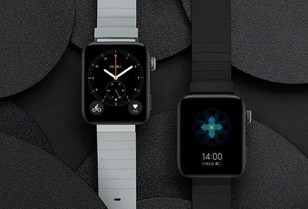 小米手表设计细节曝光表冠下方有一个开孔和长条按键