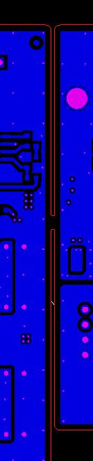锣板间距设计太小,不足0.8MM,无法放锣刀示意图1