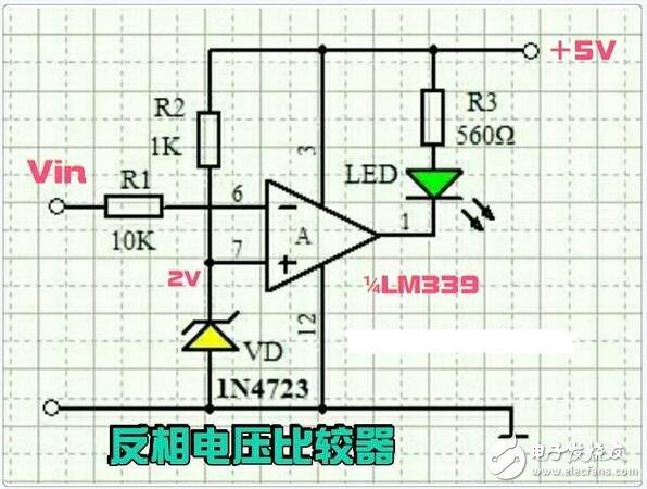 LM339在电子电路中的基本应用