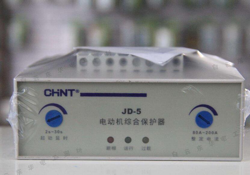 电动机综合保护器显示断相的原因