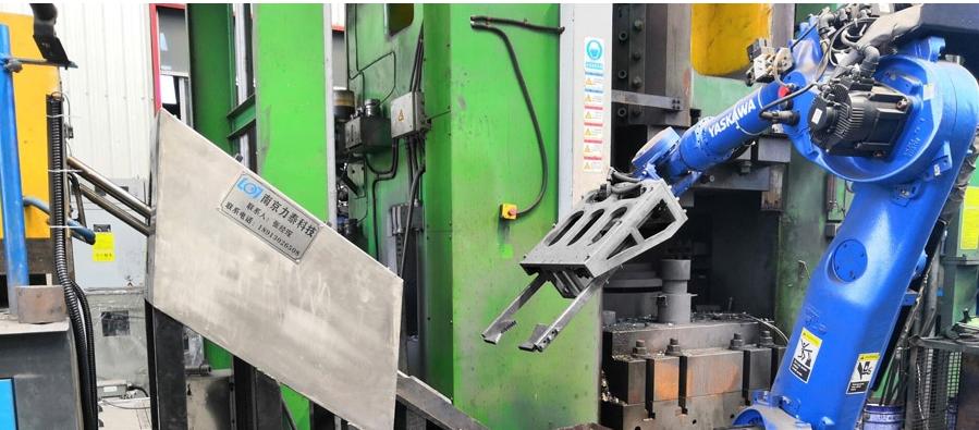 锻造自动化生产线有了工业机器人有什么作用