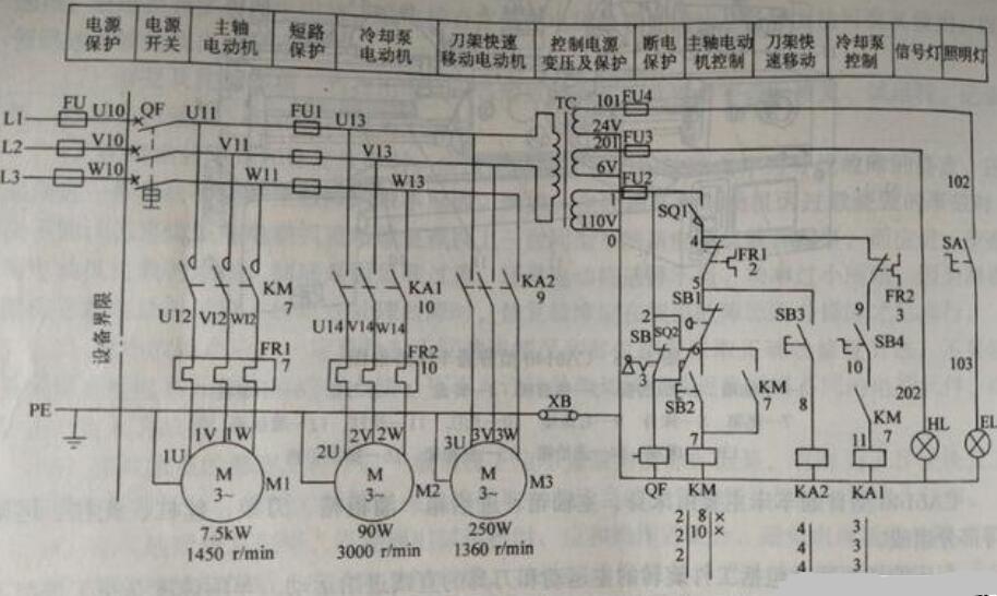 如何看懂电气线路图