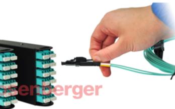 羅森伯格推出了新型的光纖LC快速插拔連接器