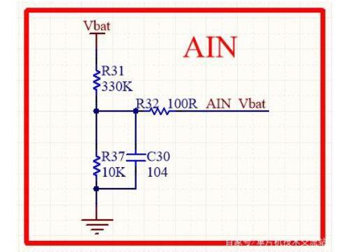 单片机采样电路及采样电流方法