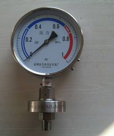 膜片压力表的检定方法