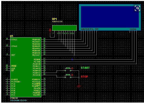 单片机控制数码管闪烁的设计