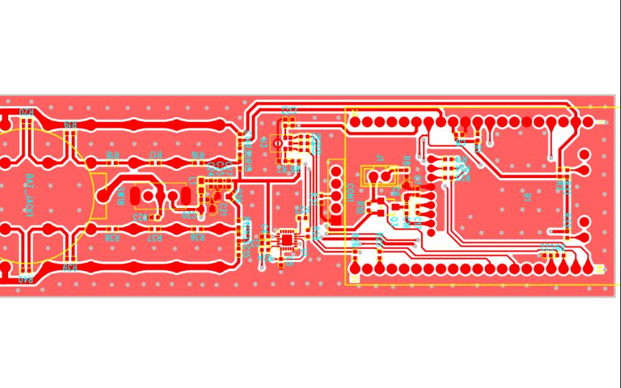 BLE语音透传远程控制电路板原理图免费下载