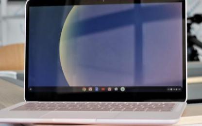 谷歌精致的玻璃筆記本電腦Pixelbook Go