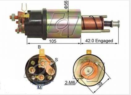 怎样判断起动机电磁开关的故障?