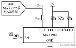 如何通过调正向电流的方法来改变LED的亮度