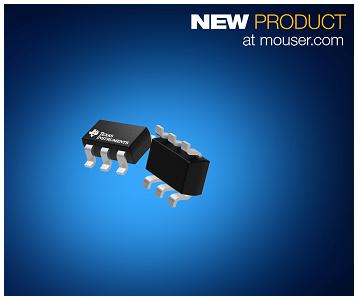 贸泽电子发布TI TPS3840 电压监控器