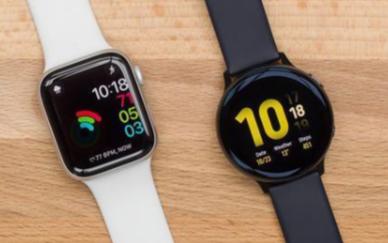 蘋果手表Series 5對比三星手表Active 2,誰更優秀
