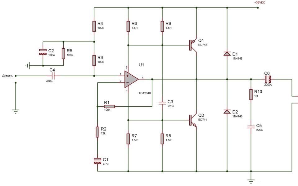 音频运放的电路有何注意事项?