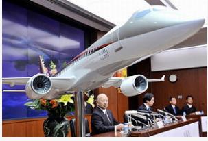 日本三菱重工开发的首款国产小型喷气式客机交付货期将会延迟
