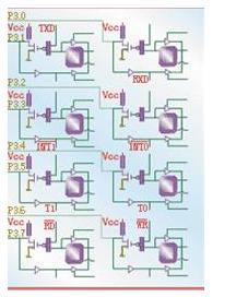 51单片机多功能端口P3口的用法解析