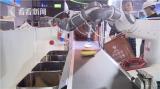 垃圾分类机器人亮相进博会,各种垃圾分得清清楚楚