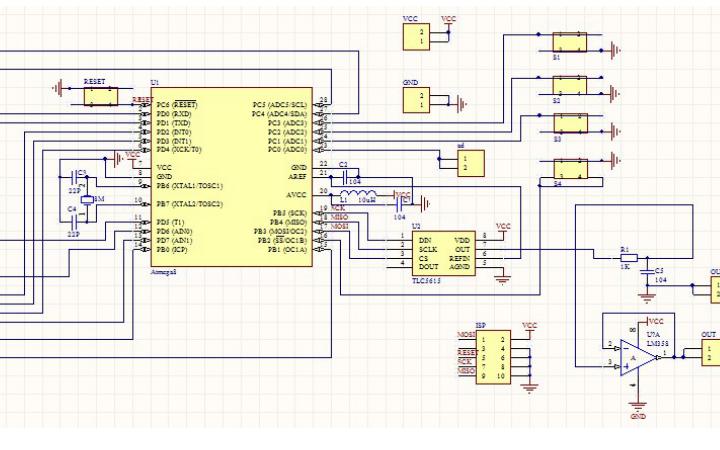 使用ATmega8l单片机设计一个函数信号发生器的设计报告免费下载