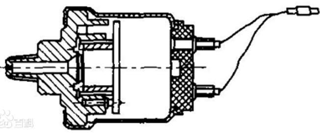 机油压力传感器的结构及工作原理