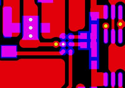 PCB制作,微小BGA與厚銅的關系示意圖1
