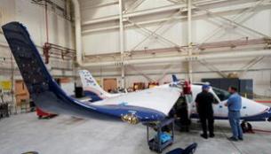 美国国家航空航天局推出了首款全电动试验飞机
