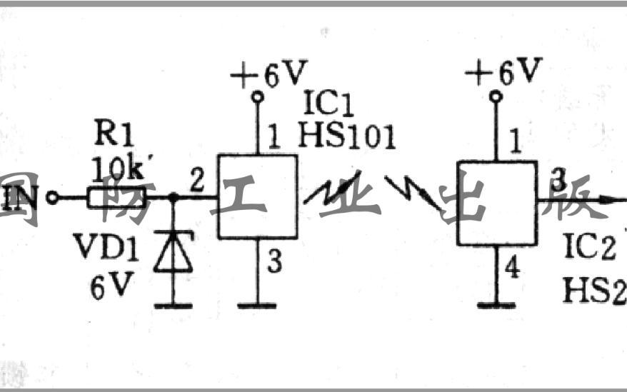 简单无线电遥控发射接收电路图免费下载
