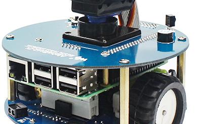 树莓派4代无线视频智能小车轻松实现避障循迹