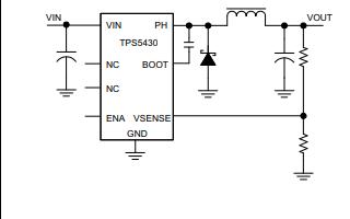 TPS5430直流稳压器的数据手册免费下载