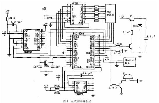 基于DS1991加密存儲型信息紐扣的智能水卡的設計