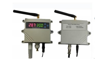 ITH50W无线温湿度传感器的数据手册免费下载