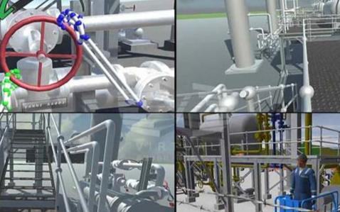天然气以及石油行业在未来将采用VR技术