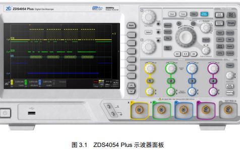 ZDS3000和ZDS4000系列示波器的用户手册免费下载