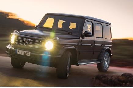 奔驰已证实将推出纯电动版的G级越野车