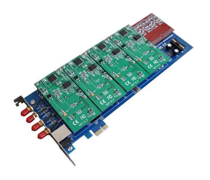 源创通信 SINOV-GSM400E PCI-E GSM asterisk卡介绍