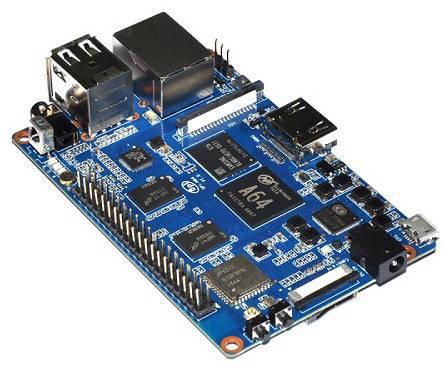 源创通信 BPI-M64 四核心64位开源单板计算机介绍