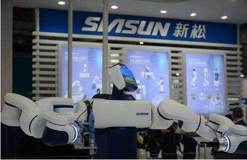 阜陽新松機器人產業園工業機器人投產暨首批機器人企業入園儀式舉行