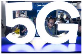 我国三大运营商正在全面推动5G终端通信能力全面成...