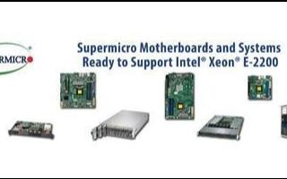 美超微将提升高密度入门级的嵌入式服务器性能