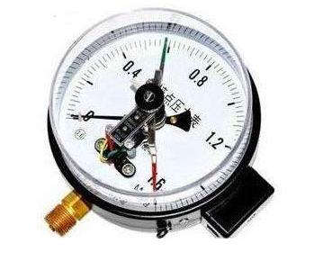 电接点压力表的结构原理