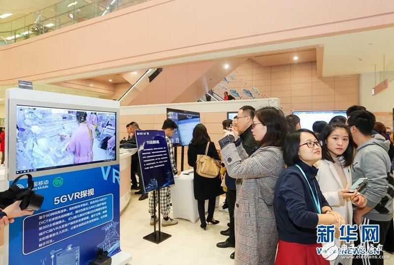 四川移动联合四川大学华西第二医院推出了5G+VR新生儿探视应用