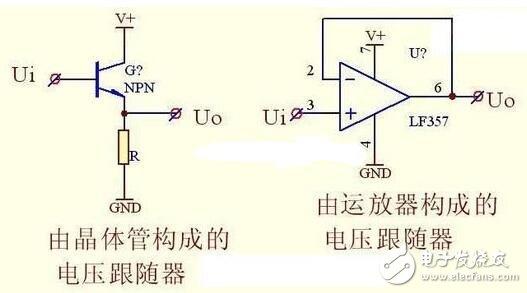 运放电压跟随器电路图