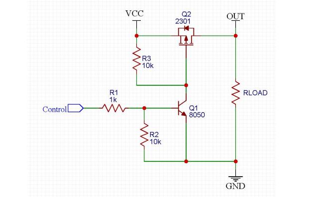 高可靠的MCU负载开关电路设计过程详细说明