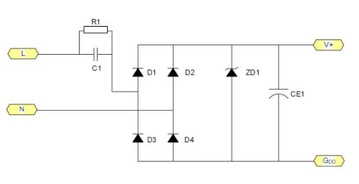 非隔离线路在LED驱动电源上的应用解析