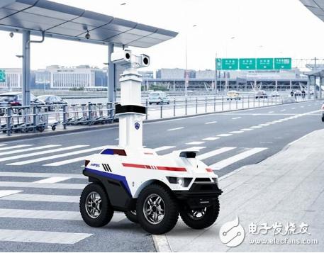 厦门警务机器人开始运行 为新时代智慧警务插上5G...