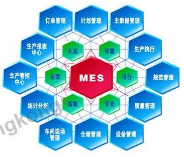 宜科公司传感器车间定制化MES系统的构架及优势介...