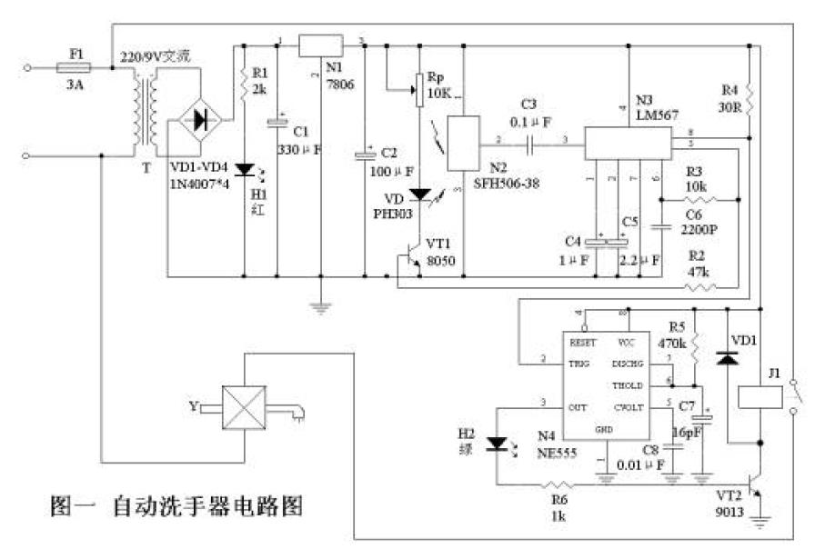 自动洗手器与自动干手器的制作方法详细概述