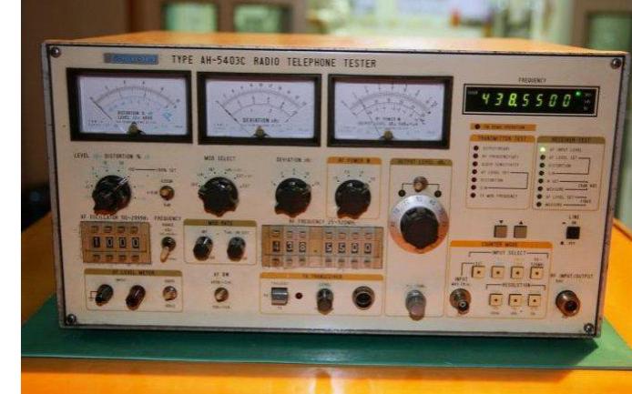 AH5403C无线电综合测试仪的故障检测实例说明