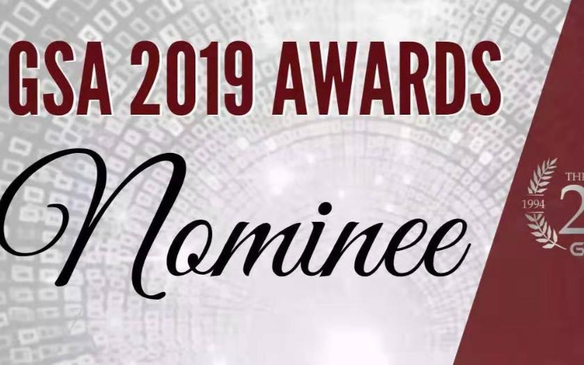 彙頂科技成功入圍全球半導體聯盟(GSA)2019年度兩大獎項提名