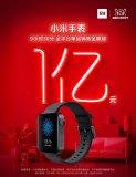 小米手表单品双11全渠道销售额突破1亿元