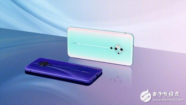 vivo S5新配色曝光偏向紫色正面搭载了6.44英寸OLED打孔屏