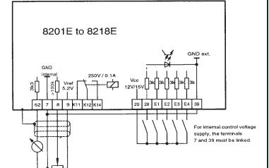 8200和8210系列伦茨变频器的使用说明书免费下载